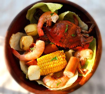 Frogmore Stew -Low Carb. Photo by Andi of Longmeadow Farm