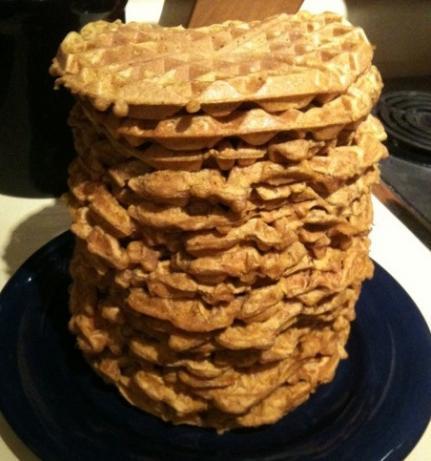 Pumpkin Spice Waffles. Photo by Greeny4444