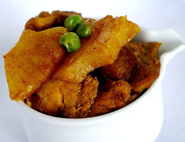 Garam Masala Curried Chicken With Pineapple And Peas Recipe - Food.com