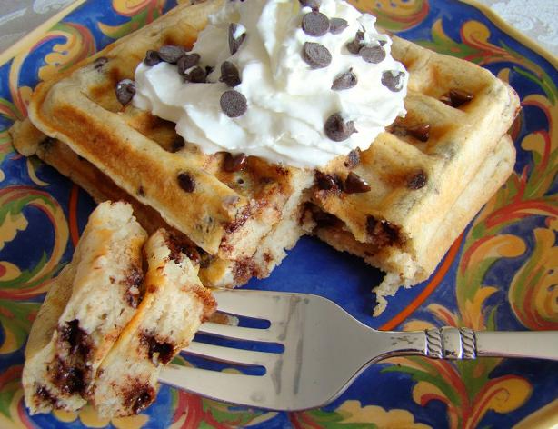 Chocolate Chip Waffles. Photo by Marg (CaymanDesigns)