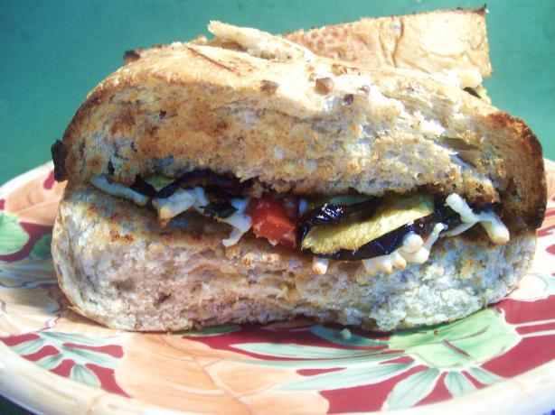 Eggplant And Mozzarella Sandwich Recipe - Food.com