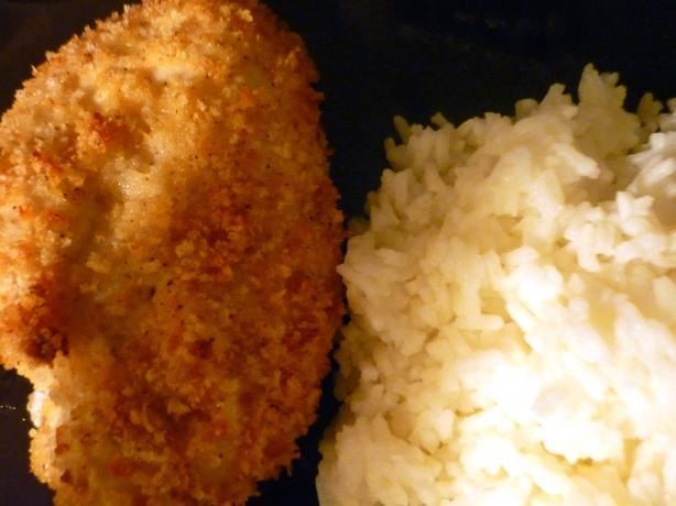 Kittencal's Crispy Garlic Baked Chicken. Photo by KarmaKush