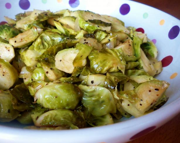 Sauteed Brussels Sprouts. Photo by *Parsley*