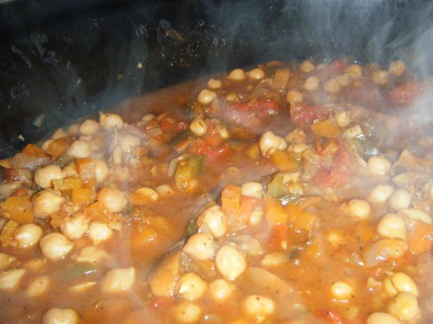... World Friendly Chickpea and Vegetable Stew. Photo by cakeinmyface