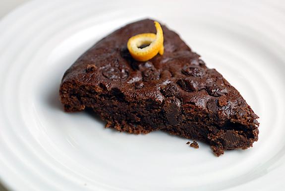 Double Chocolate Orange Torte. Photo by Elana's Pantry