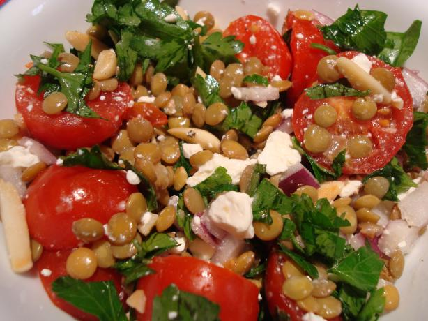 Lentil And Feta Cheese Salad Recipes — Dishmaps