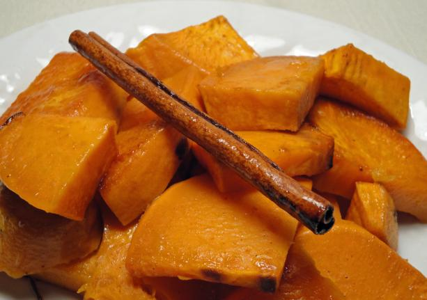 Cinnamon Roasted Sweet Potatoes Recipe - Food.com