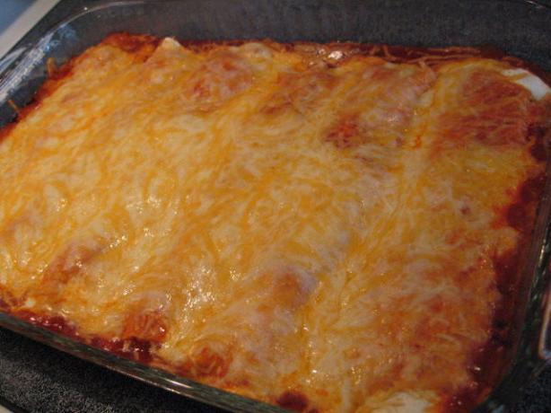 Easy Beef Enchiladas. Photo by Brenda.