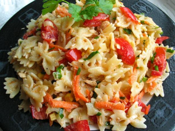 Healthy Tuna And Pasta Salad Recipe - Food.com