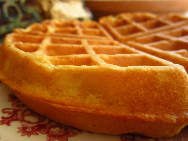 Rich Buttermilk Waffles. Photo by gailanng