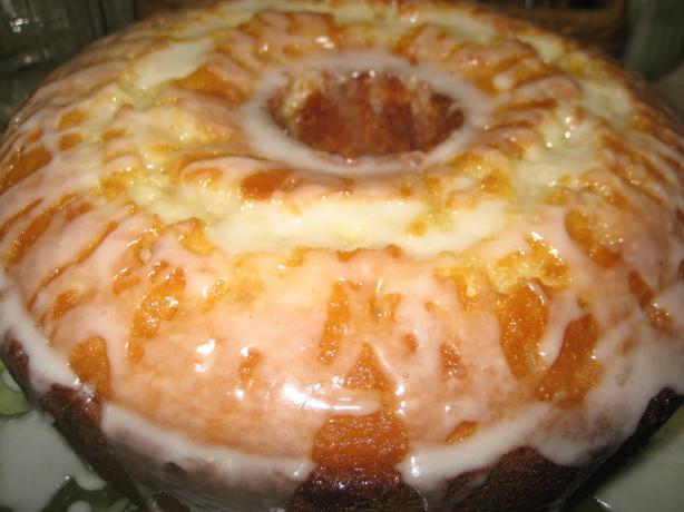 Orange Supreme Bundt Cake