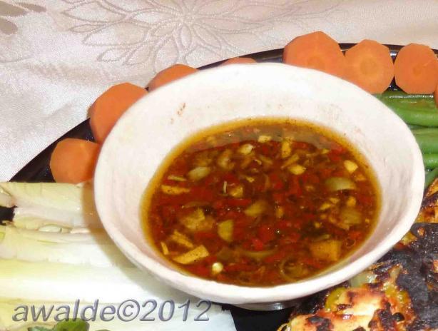 Vietnamese dipping sauce vegan nuoc cham alternative for Vietnamese fish sauce recipe