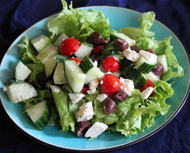Quick Cucumber, Tomato And Feta Salad Recipe - Greek.Food.com