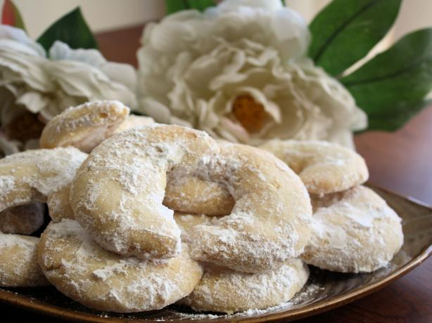 Almond Crescent Cookies. Photo by **Jubes**