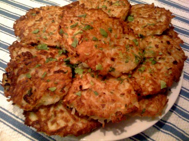 Potato Pancakes - German Style. Photo by Foodie Friend