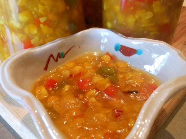 Roasted Corn Relish Recipe from Cooklime, ingredients, easy, recipe ...