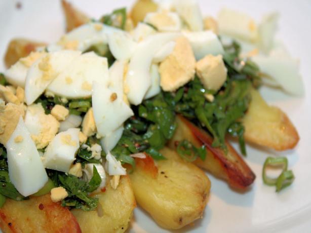 Roasted Fingerling Potato Salad. Photo by **Jubes**
