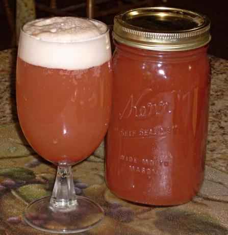 Rhubarb Syrup. Photo by Chef Joey Z.