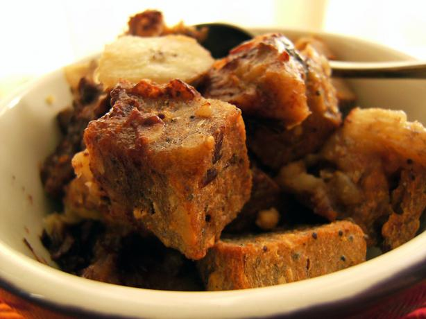 Banana Chocolate Chip Bread Pudding Vegan) Recipe - Food.com
