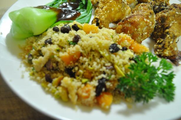 Couscous With Dried Apricots, Currants, And Pistachios ...