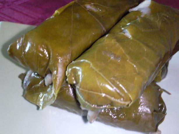 Stuffed Grape Leaves (Warak Enab) Recipes — Dishmaps