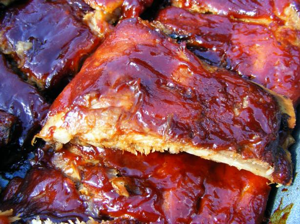 Fall off the Bone Baby Back Ribs. Photo by Lavender Lynn