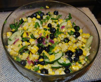 Summer Corn And Blueberry Salad Recipe - Food.com