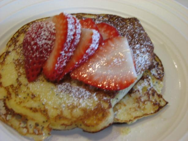 Four Seasons' Lemon Ricotta Poppy Seed Pancakes. Photo by Bonnie G #2