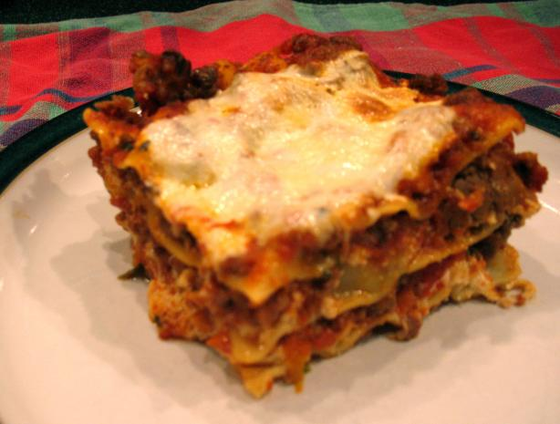 World's Best Lasagna. Photo by Chicagoland Chef du Jour