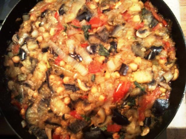 how to cook lebanese eggplant