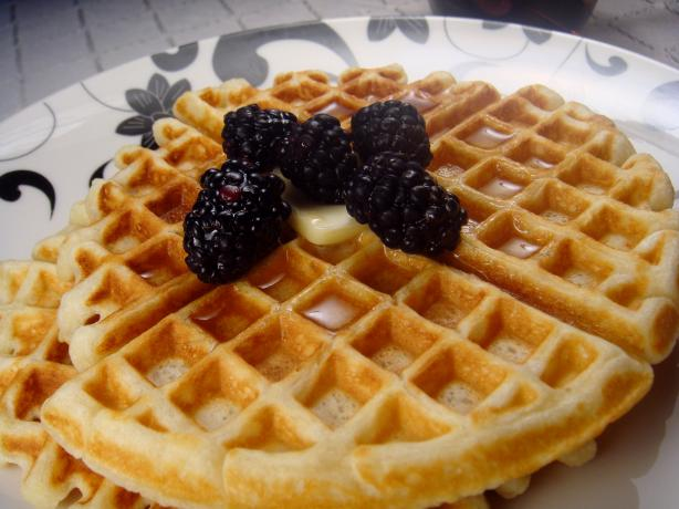Easy Buttermilk Waffles. Photo by Lori Mama