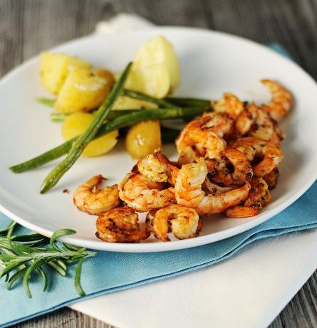 Amp network ginger-soy-lime marinated shrimp recipes