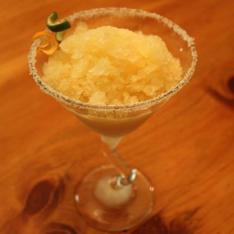 Golden Margarita Granita. Photo by Sommer Clary