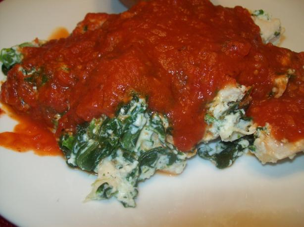 Spinach Ricotta Chicken Bake Recipe from Cooklime, ingredients, easy ...