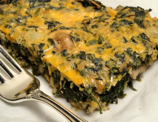Spinach And Feta Casserole With Brown Rice And Parmesan Recipes ...