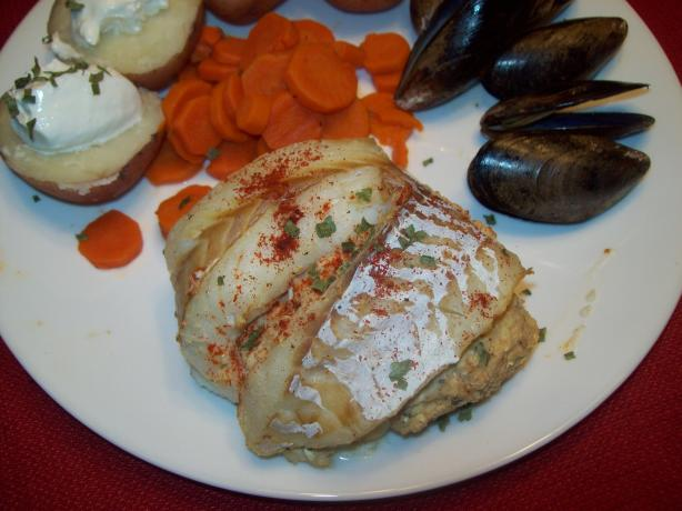 Crab stuffed fillet o fish recipe for Crab stuffed fish