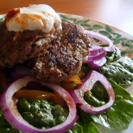 Middle Eastern Spiced Lamb Burger Recipe from Cooklime, ingredients ...