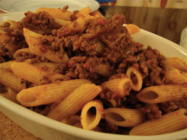 Spicy Bolognese Sauce. Photo by JoyfulCook