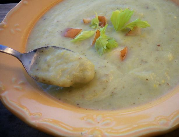 Celery and Pear Bisque. Photo by *Parsley*