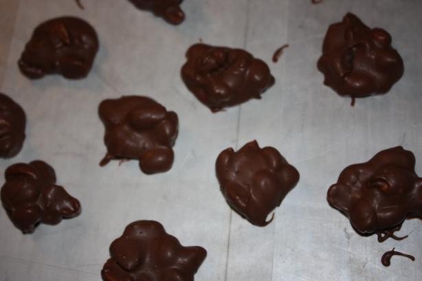 Chocolate Covered Peanuts Crock Pot Candy Recipe Food Com