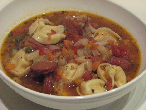 Bob's Italian Sausage Tortellini Soup. Photo by Bonnie G #2
