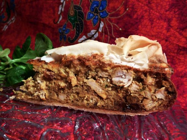... moroccan chicken and almond moroccan style chicken pie moroccan style