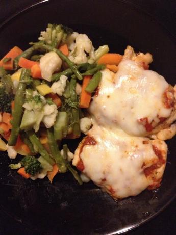 No Breading Baked Chicken Parmesan Recipe Food Com