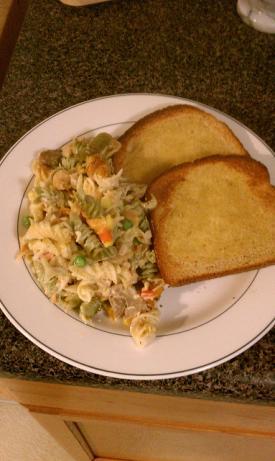 Rainbow Rotini, Chicken & Broccoli Casserole. Photo by Pit Master Mark