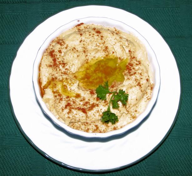 Roasted Garlic Hummus. Photo by Irishcolleen