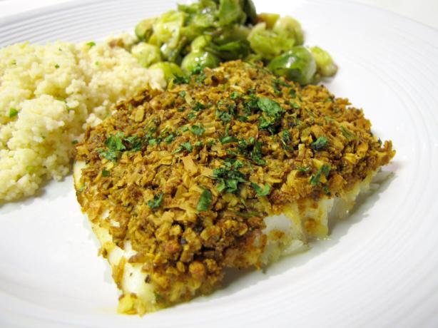 Coconut Curry Crust Fish Recipe - Food.com