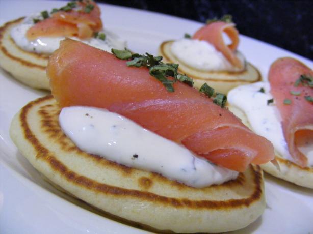 Smoked Salmon Pancakes. Photo by Sara 76