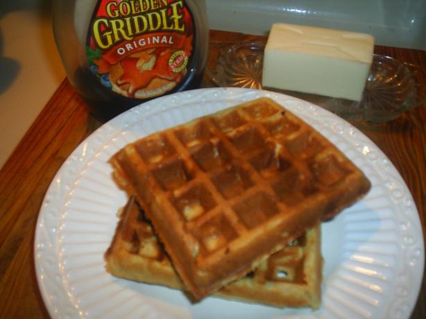 Peanut Butter Waffles Recipe - Food.com
