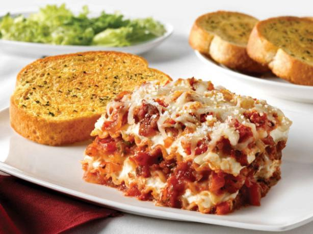 Sausage & Peppers Lasagna. Photo by Philadelphia Cream Cheese