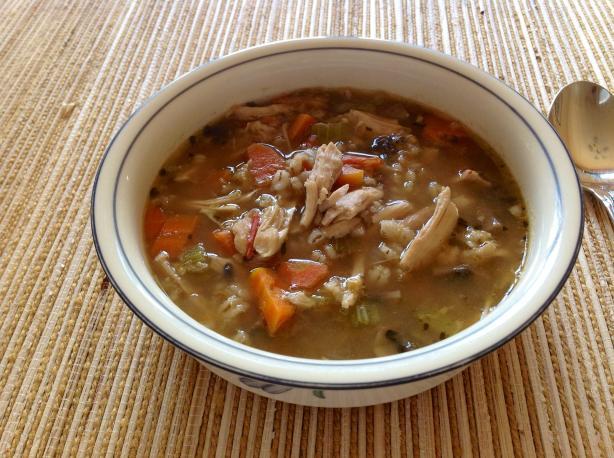Grandmas Chicken-Barley Soup Recipe - Food.com